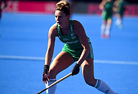 Ireland's Nicola Evans <br /> <br /> Photographer Hannah Fountain/CameraSport<br /> <br /> Vitality Hockey Women's World Cup - Netherlands v Ireland - Sunday 5th August 2018 - Lee Valley Hockey and Tennis Centre - Stratford<br /> <br /> World Copyright &copy; 2018 CameraSport. All rights reserved. 43 Linden Ave. Countesthorpe. Leicester. England. LE8 5PG - Tel: +44 (0) 116 277 4147 - admin@camerasport.com - www.camerasport.com