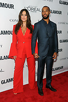 BROOKLYN, NY - NOVEMBER 13: Ashley Graham, Justin Ervin  at Glamour's 2017 Women Of The Year Awards at the Kings Theater in Brooklyn, New York City on November 13, 2017. <br /> CAP/MPI/JP<br /> &copy;JP/MPI/Capital Pictures