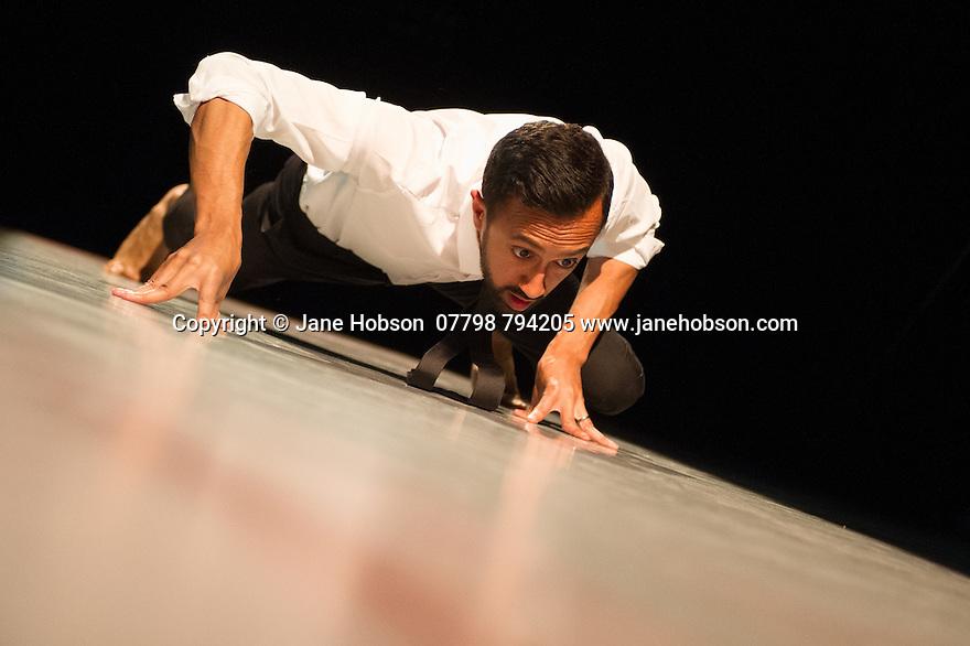 London, UK. 20.05.2014. Sadler's Wells New Wave Associate Artist, Hetain Patel, presents AMERICAN BOY, in the Lilian Baylis Studio. Photograph © Jane Hobson.