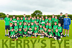 Young footballers at the FAI camp in Mastergeeha on Friday