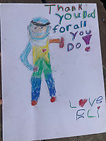 Thanks for all you do! Drawing by Eli Nilson Grade 5, Yarmouth, ME, USA