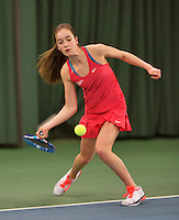 Rotterdam, The Netherlands, March 20, 2016,  TV Victoria, NOJK 14/18 years, Julie Belgraver (NED)<br /> Photo: Tennisimages/Henk Koster