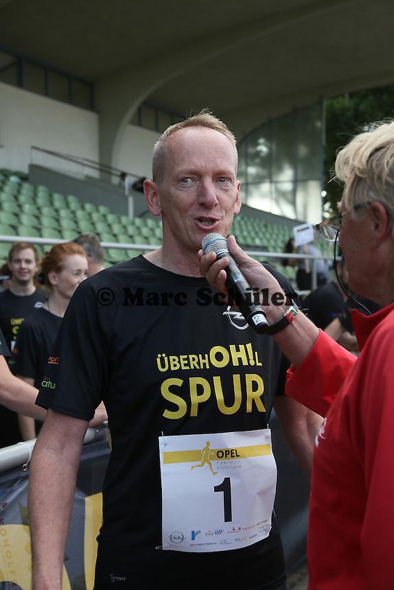 OPEL Vorstandsvorsitzender Karl-Thomas Neumann - 4. OPEL Firmenlauf, Stadion am Sommerdamm