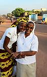 BURKINA FASO , Bobo Dioulasso, Good Shepherd Sisters / Die Schwestern vom Guten Hirten, SR. HILARIA PUTHIRIKKAL aus Indien