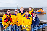 Life Savers<br /> ---------------<br /> Members Fenit RNLI who attended the Mass and blessing of the boats at Brandon pier last Sunday as part of the F&eacute;ile Lughnasa were L-R terry Sheehy, Sean O'Callaghan, Guy Waugh, Denis Lynch, Lee Sugrue with Coxwain John Moriarty.