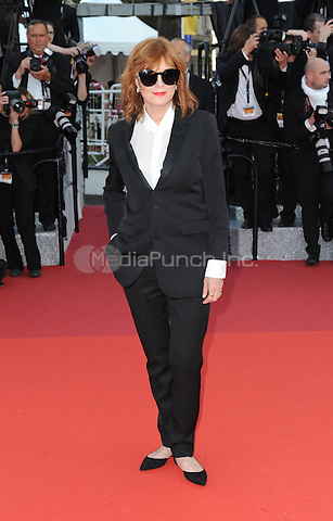 Susan Sarandon at &quot;Cafe Society&quot; &amp; Opening Gala arrivals - The 69th Annual Cannes Film Festival, France on May 11, 2016.<br /> CAP/LAF<br /> &copy;Lafitte/Capital Pictures /MediaPunch ***NORTH AND SOUTH AMERICAN SALES ONLY***