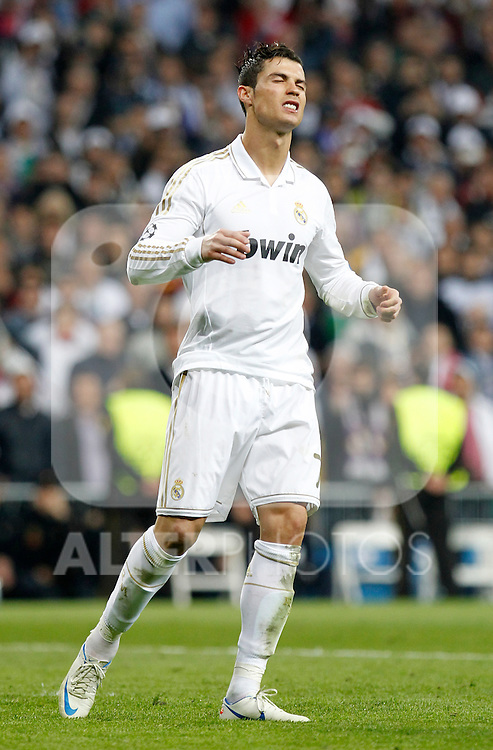 Madrid (25/04/2012).- Estadio Santiago Bernabeu..UEFA Champions League..Real Madrid-Bayern Munchen..Cristiano Ronaldo falla el penalty...Photo: Alex Cid-Fuentes / ALFAQUI..