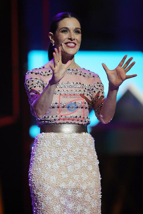 63 Premios Ondas.<br /> Gala de Entrega de los premios.<br /> Raquel Sanchez Silva.