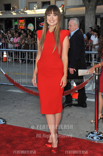Olivia Wilde at the world premiere of her new movie The Change-Up at the Regency Village Theatre, Westwood..August 1, 2011  Los Angeles, CA.Picture: Paul Smith / Featureflash