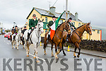 The Kingdom Hunt club brings the tricolour to the Rathmore 1916 rememberance ceremony on Sunday