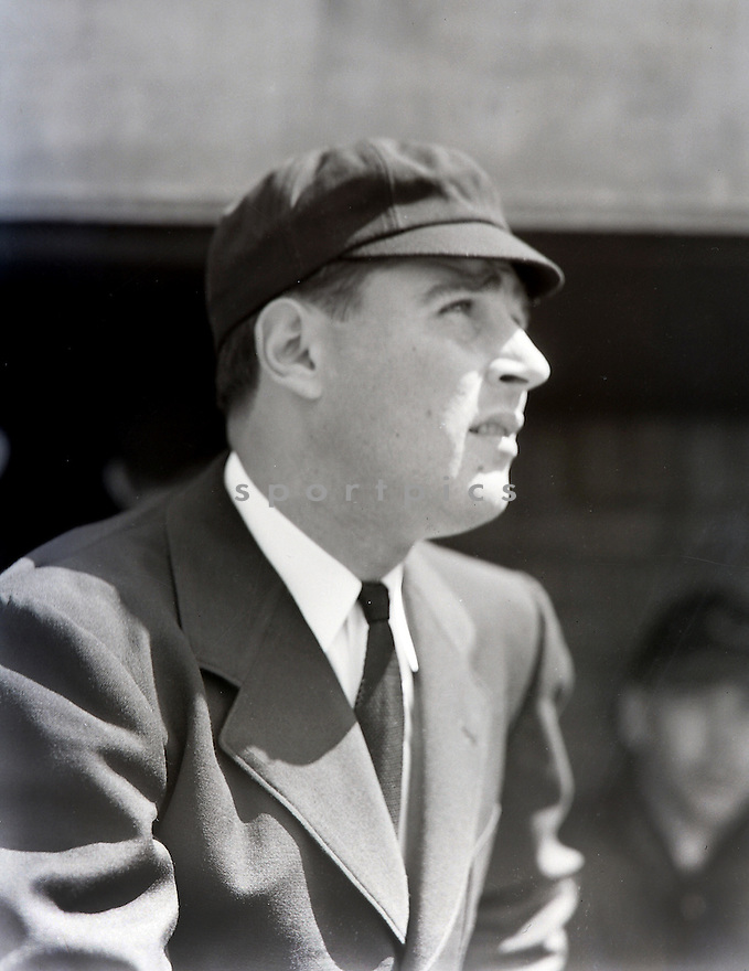 Portrait of National League Al Barlick.  Barlick umpired for 27 years and was inducted by the veteran's committee to the Baseball of Fame in 1989.
