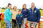 Laura Cotter, Annie Moriarty, Sean, Brid and Bertie Moriarty from Cordal at the Castleisland Races on Sunday.