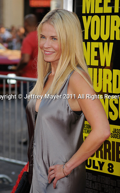 """HOLLYWOOD, CA - JUNE 30: Chelsea Handler  arrives at the """"Horrible Bosses"""" Los Angeles premiere at Grauman's Chinese Theatre on June 30, 2011 in Hollywood, California."""