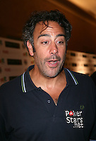 BRAD GARRETT.The Ante Up for Africa Celebrity Poker Tournament at the Rio Resort Hotel and Casino, Las Vegas, Nevada, USA..July 2nd, 2009.headshot portrait mouth open funny face stubble facial hair .CAP/ADM/MJT.© MJT/AdMedia/Capital Pictures