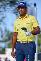 Anirban Lahiri (IND) departs the 11th tee during round 3 of the Honda Classic, PGA National, Palm Beach Gardens, West Palm Beach, Florida, USA. 2/25/2017.<br /> Picture: Golffile | Ken Murray<br /> <br /> <br /> All photo usage must carry mandatory copyright credit (&copy; Golffile | Ken Murray)