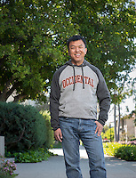 Sophal Ear, Associate Professor, Diplomacy & World Affairs, photographed for Oxy Wear, March 22, 2016.<br />