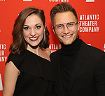 """Laura Osnes and Nathan Johnson attends the Atlantic Theater Company """"Divas' Choice"""" Gala at the Plaza Hotel on March 4, 2019 in New York City."""