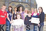 WALKING: Brosna parishioners who are organising a sponsored walk to help fund recent refurbishments at St Carthage's Church, including front, Michelle and Shauna Geaney. Back l-r: Daniel Fitzgerald, Noreen McAuliffe, Eileen Fitzgerald, Marian Curtin, Noreen O'Connor, Margaret Curtin, Linda O'Connor, Maura O'Connor.