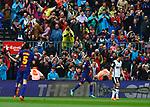 Suarez, FC Barcelona 2 a 1 Valencia FC Jornada 32 de liga, 14 Abril 2018, Estadio Camp Nou, Barcelona. Photo Martin Seras Lima