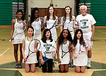 3-30-17, Huron High School girl's junior varsity tennis
