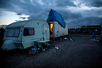 Dale Farm's last caravan to be removed from the site after the 19th October eviction