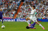 Real Madrid´s Kovacic in action
