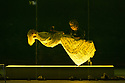 """EMBARGOED UNTIL 23:30 TUES 1ST OCTOBER, 2019. English National Opera presents """"Orpheus & Eurydice"""", by Christoph Gluck,  with libretto by Pierre-Louis Moline, version by Hector Berlioz, at the London Coliseum. Directed and choreographed by Wayne McGregor, with lighting design by Jon Clark, set design by Lizzie Clachan, costume design by Louise Gray, and video design by Ben Cullen Williams. Picture shows: Rebecca Bassett Graham (as Eurydice's double), Alice Coote (Orpheus)"""