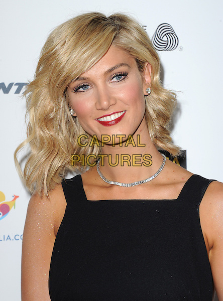 Delta Goodrem attends The G'Day USA Black Tie Gala held at  JW Marriot at LA Live in Los Angeles, California on January 11,2014                                                                                <br /> CAP/DVS<br /> &copy;Debbie VanStory/Capital Pictures