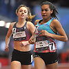 Katherine Lee of Shoreham-Wading River competes in the girls 1-mile run during the New Balance Indoor Nationals at The Armory in New York, NY on Sunday, March 11, 2018. She took the bronze medal in the event with a third place finish at 4:46.61.