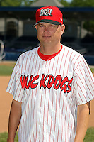 June 30th, 2007:  Mike Shildt of the Batavia Muckdogs, Short-Season Class-A affiliate of the St. Louis Cardinals at Dwyer Stadium in Batavia, NY.  Photo by:  Mike Janes/Four Seam Images