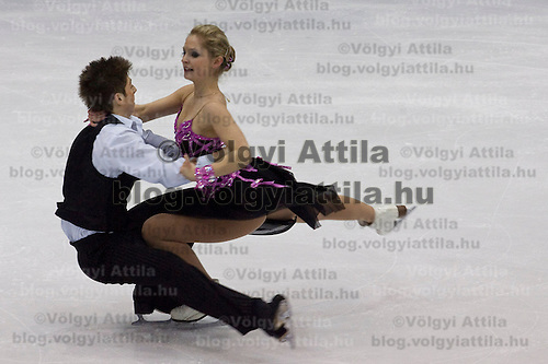 Dora Turoczi and Balazs Major performs during the figure skating national championships held in Budapest's Practice Ice Center. Budapest, Hungary. Sunday, 09. January 2011. ATTILA VOLGYI