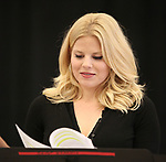 """Megan Hilty In Rehearsal with the Kennedy Center production of """"Little Shop of Horrors"""" on October 11 2018 at Ballet Hispanica in New York City."""