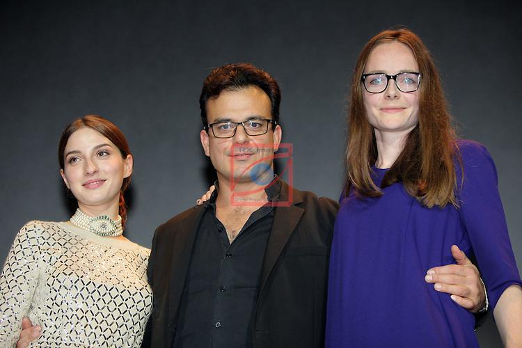 49 Festival Internacional de Cinema Fantastic de Catalunya-Sitges 2016.<br /> Gala Clausura.<br /> Maria Valverde, Juan Carlos Medina &amp; Joanna Lauri.
