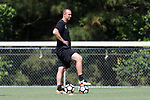 CARY, NC - JUNE 01: Scott Vallow. The North Carolina Courage held a training session on June 1, 2017, at WakeMed Soccer Park Field 7 in Cary, NC.