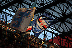 Sampdoria fans wave flags in the third tier of the stadium during the Serie A match at Giuseppe Meazza, Milan. Picture date: 6th January 2020. Picture credit should read: Jonathan Moscrop/Sportimage