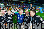 Ardfert players cerebrate after defeating Saint Croan's in the Intermediate Football All Ireland Club Final in Croke Park on Saturday.