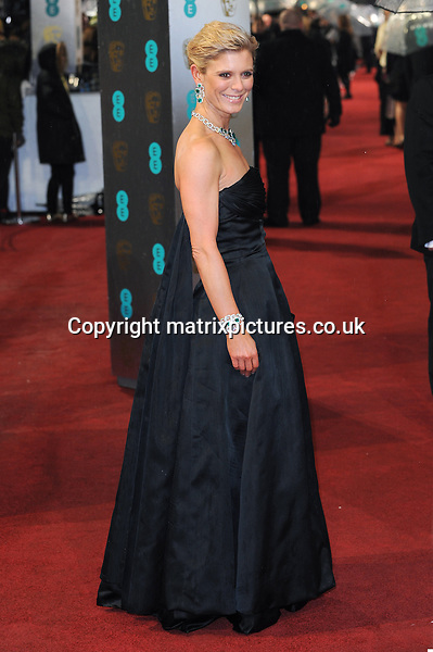 NON EXCLUSIVE PICTURE: PAUL TREADWAY / MATRIXPICTURES.CO.UK.PLEASE CREDIT ALL USES..WORLD RIGHTS..English actress Emilia Fox attending the 2013 EE British Academy Film Awards, at London's Royal Opera House...FEBRUARY 10th 2013..REF: PTY 13945