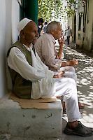 Tripoli, Libya, North Africa.  Abdallah Ibrahim, Caretaker of the An-Nagah Mosque.