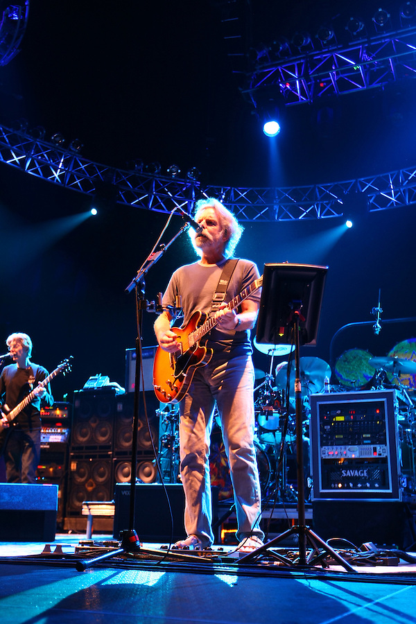 The Dead performed at the John Paul Jones Arena on the Grounds of the University of Virginia in Charlottesville, VA. on April 15, 2009.