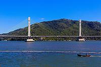 Ponte Anita Garibaldi, Laguna,  Santa Catarina. 2017. Foto de Andre Arcenio.