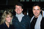 Heather Locklear, Gordon Thompson and Michael Nader ( Dynasty ) Promoting the new Dynasty Book at Barnes and Noble in New York City.<br /> November 1, 1984