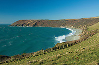 Dodman Point near Gorran Haven on the Roseland Peninsula, Cornwall