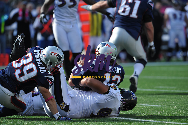 The Patriots streak of winning coming off their bye week stretched to 9 as they defeated the Baltimore Ravens 23 - 20 in OT.
