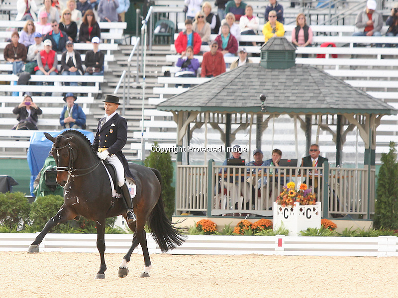 28 September 2010. #421 Steffen Peters and Ravel for team USA.
