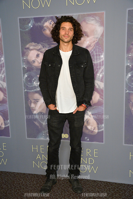 Trent Garrett at the premiere for HBO's &quot;Here and Now&quot; at The Directors Guild of America, Los Angeles, USA 05 Feb. 2018<br /> Picture: Paul Smith/Featureflash/SilverHub 0208 004 5359 sales@silverhubmedia.com