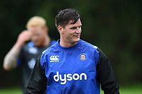 Freddie Burns of Bath Rugby looks on. Bath Rugby pre-season training session on August 9, 2017 at Farleigh House in Bath, England. Photo by: Patrick Khachfe / Onside Images