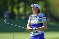 Juli Inkster (USA) watches her tee shot on 3 during round 1 of the 2018 KPMG Women's PGA Championship, Kemper Lakes Golf Club, at Kildeer, Illinois, USA. 6/28/2018.<br /> Picture: Golffile | Ken Murray<br /> <br /> All photo usage must carry mandatory copyright credit (&copy; Golffile | Ken Murray)