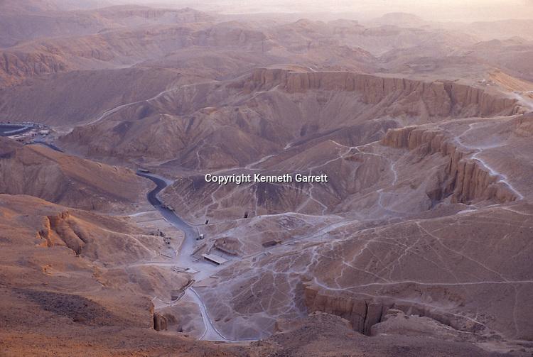 Egypt's Valley of the Kings, near Luxor, New Kingdom, Egypt