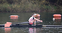 Caversham. Berkshire. UK<br /> Fran RAWLINS, competing at the  2016 GBRowing U23 Trials at the GBRowing Training base near Reading, Berkshire.<br /> <br /> Monday  11/04/2016 <br /> <br /> [Mandatory Credit; Peter SPURRIER/Intersport-images]