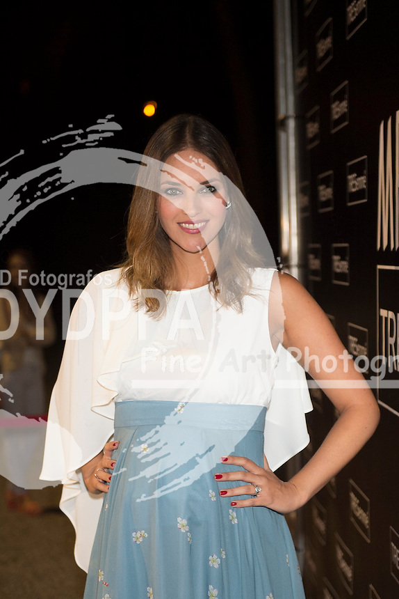 Spanish model Helen Lindes (Real Madrid's Baskesball player Rudy Fernandez's wife)